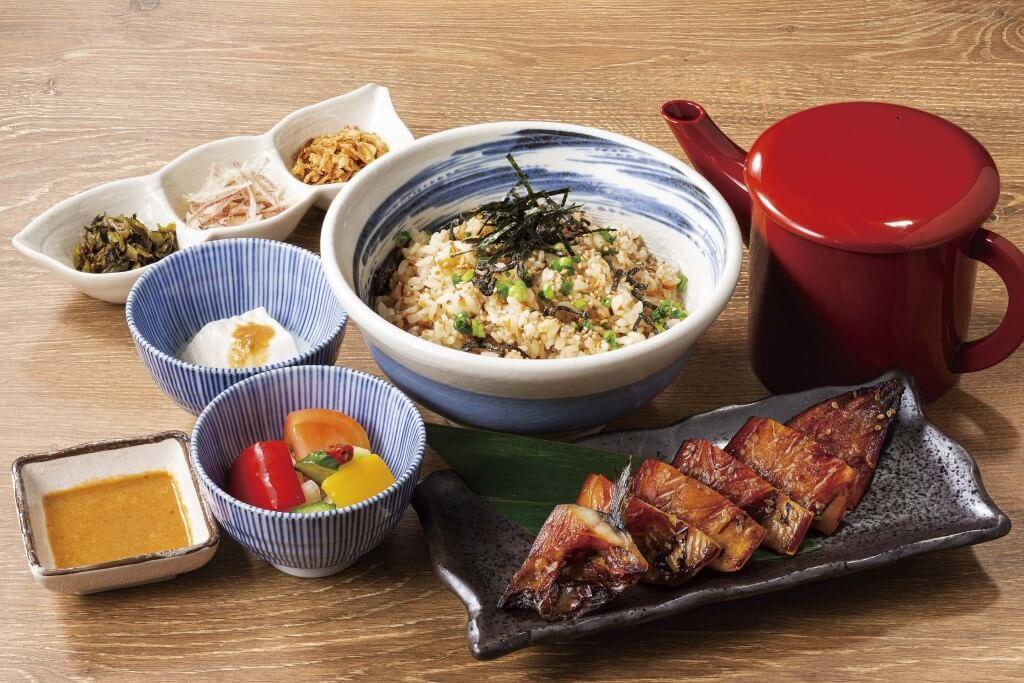 魚や一丁×料理家 栗原心平『さば味醂干し定食』