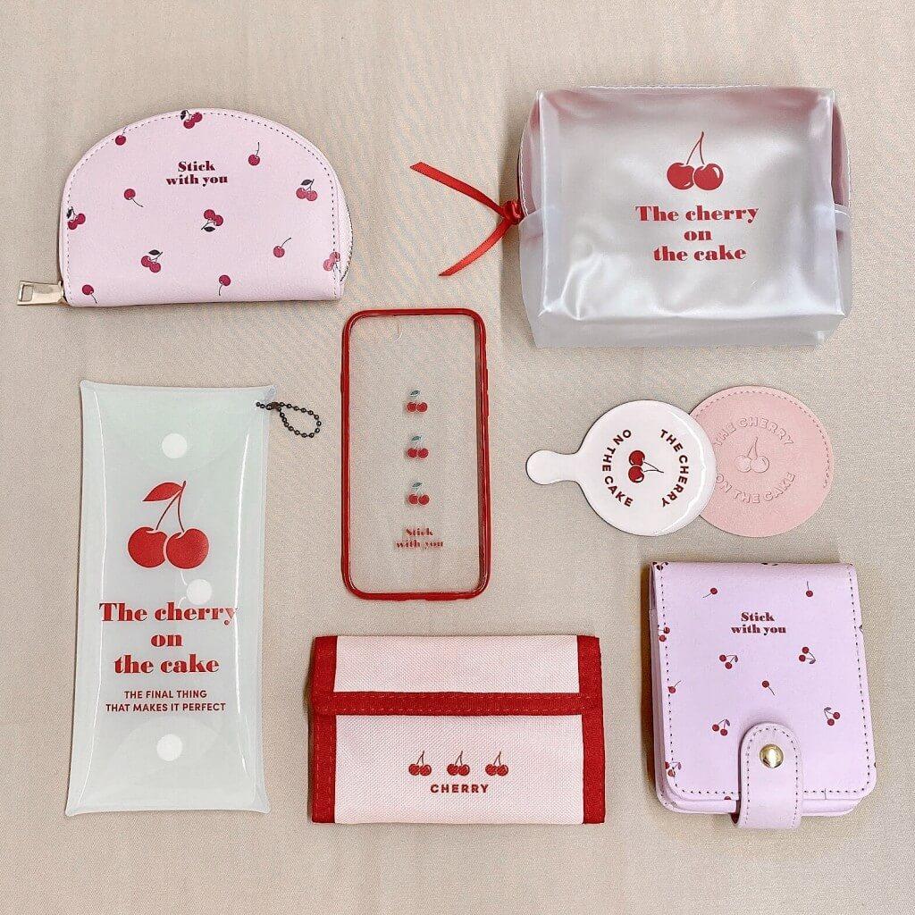 サンキューマート第4弾『Cherry Series(チェリーシリーズ)』-Red×Pink