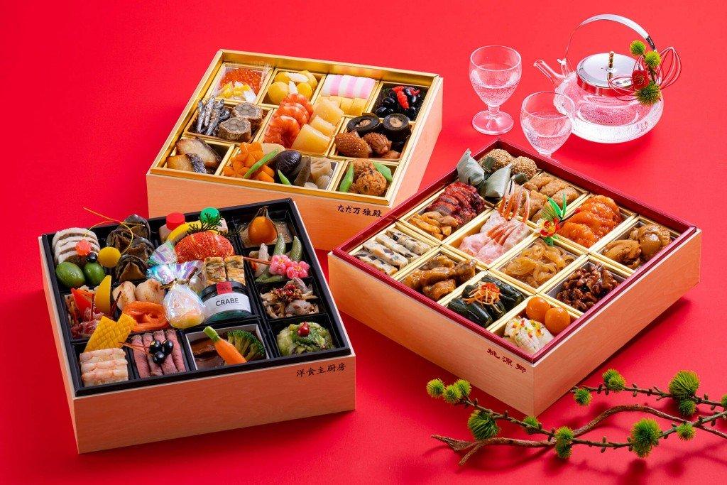 札幌パークホテルのおせち料理「祝い重ね」