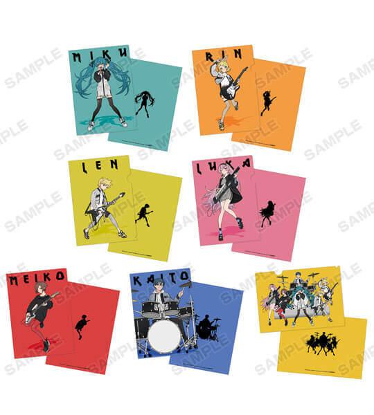 『初音ミク POP UP SHOP in TOWER RECORDS』のクリアファイル(全7種)