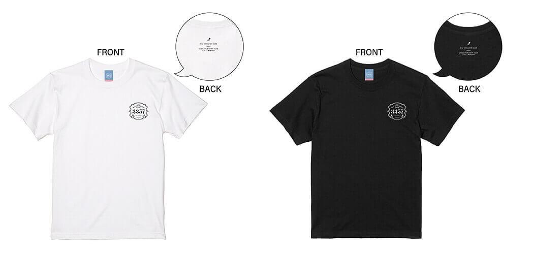 MAI SHIRAISHI CAFEの『Tシャツ(White)(Black)』