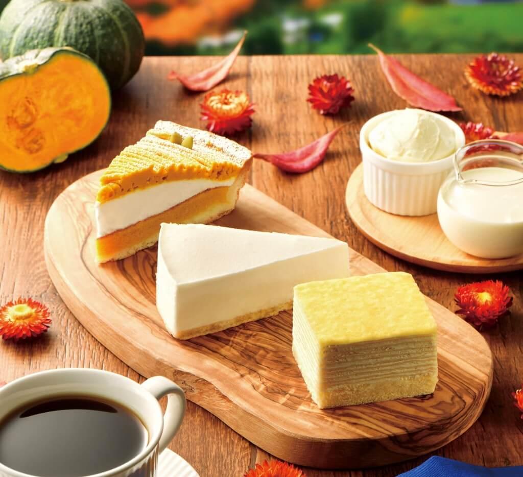カフェ・ド・クリエの『もっちりミルクレープ~北海道産 生クリーム使用~』など