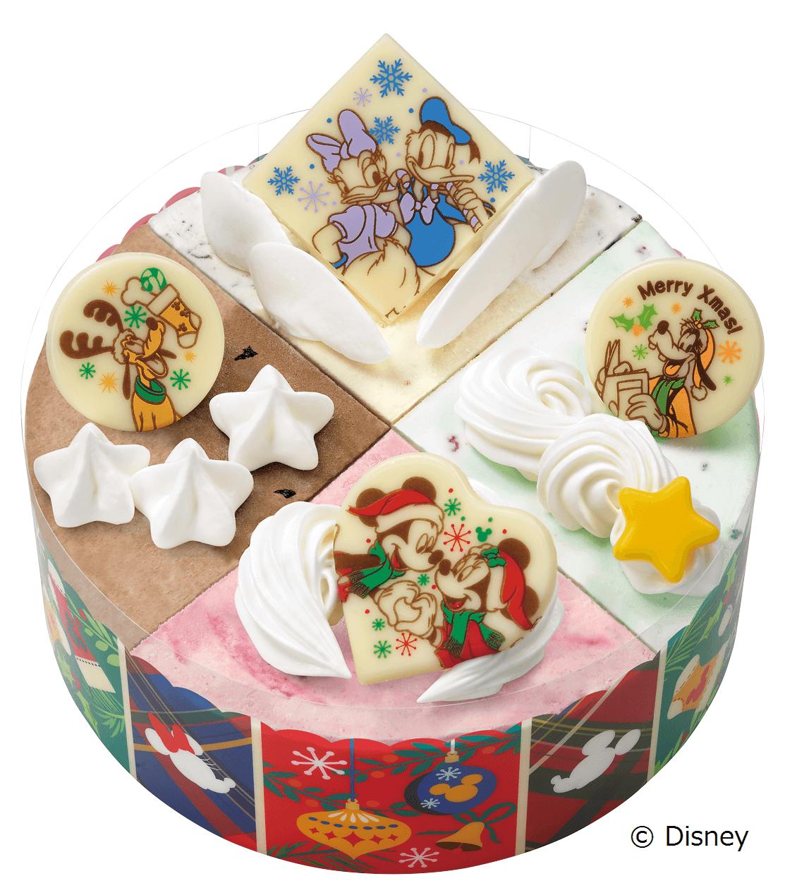 サーティワン『ミッキー&フレンズ / クリスマスパレット』