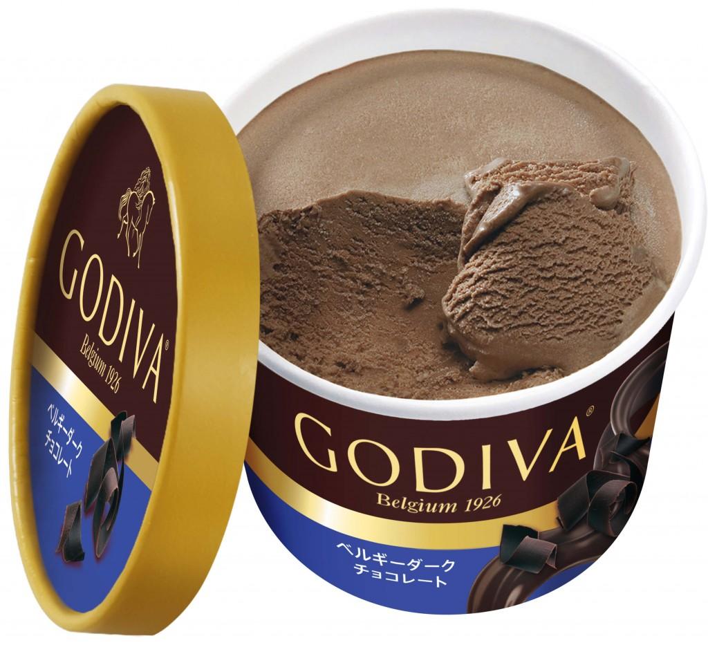 ゴディバのカップアイス新フレーバー『ベルギーダークチョコレート』