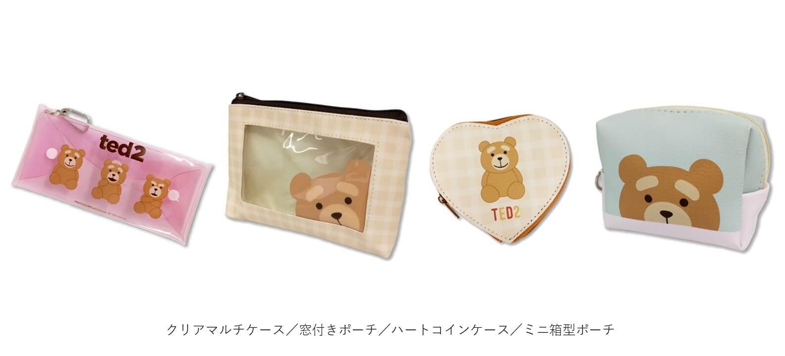 『サンキューマート×TED2』コラボグッズ-クリアマルチケース