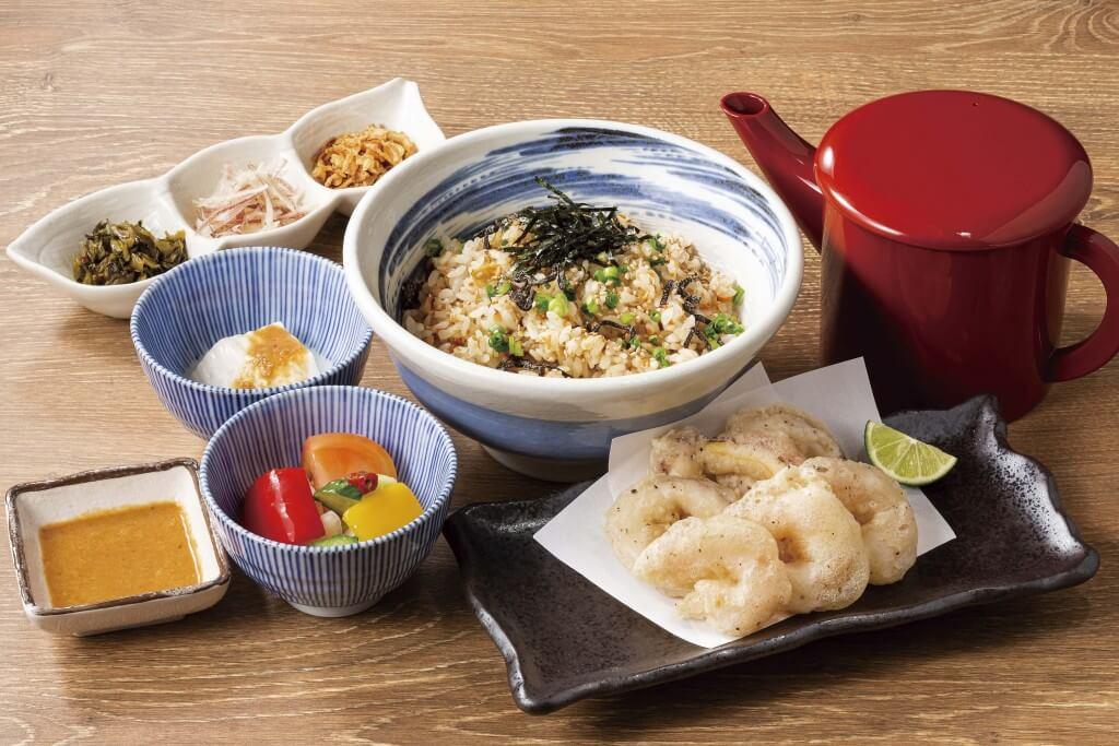 魚や一丁×料理家 栗原心平『イカと海老のフリット定食』
