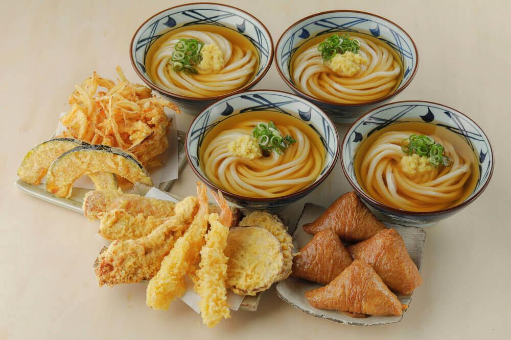 丸亀製麺の『創業感謝セット』-4人前