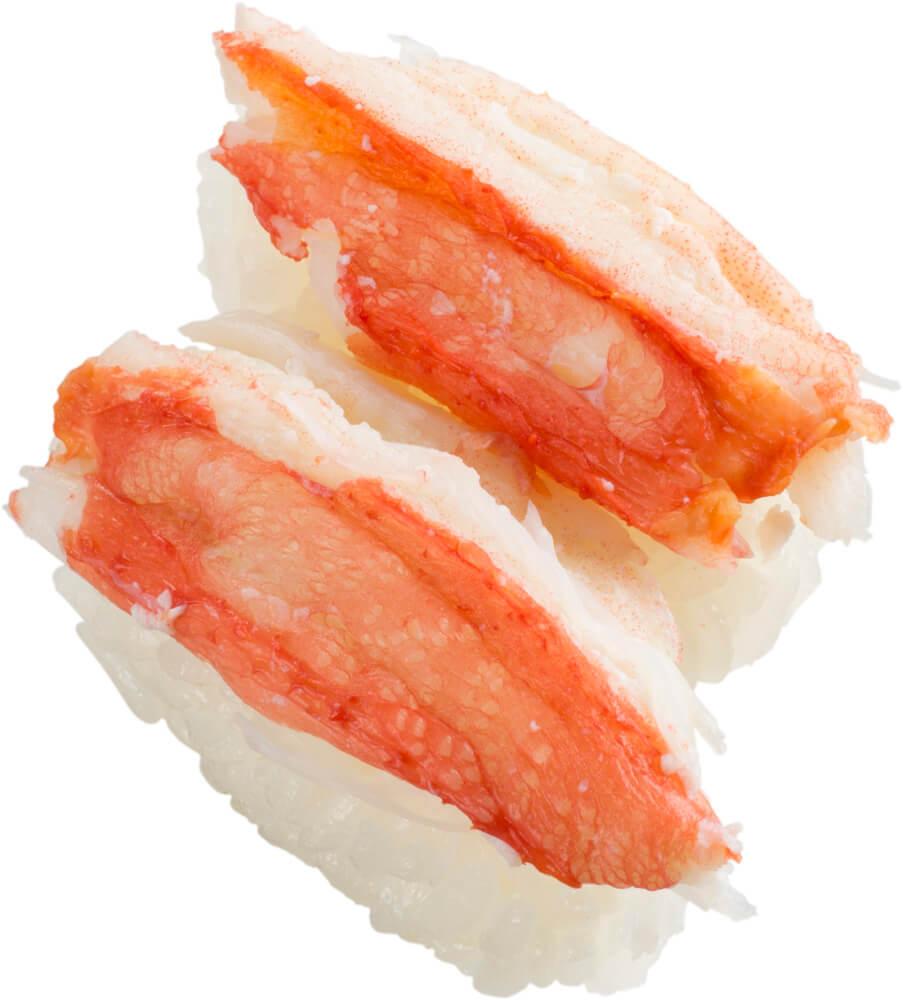 スシロー『かに祭』-ボイル本ずわい蟹2貫