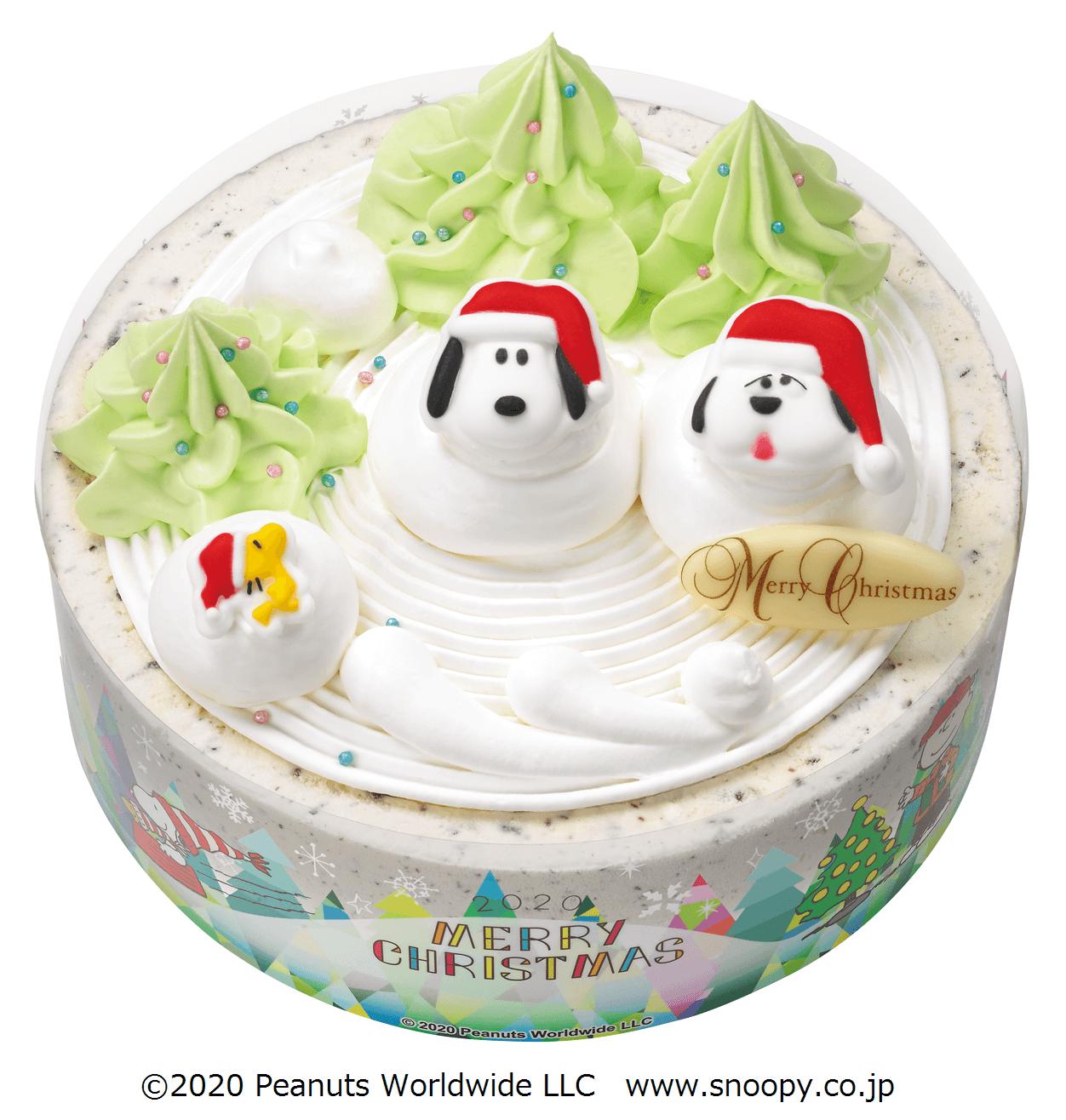 サーティワン『スヌーピーとオラフのクリスマス スノーマン』