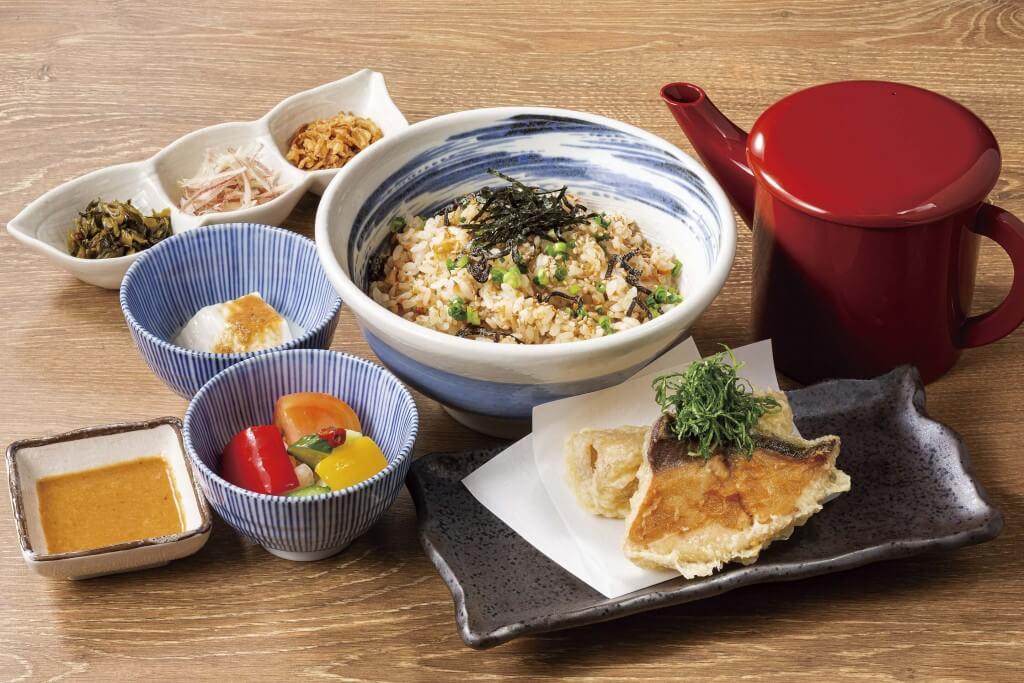 魚や一丁×料理家 栗原心平『ブリ大根の天ぷら定食』