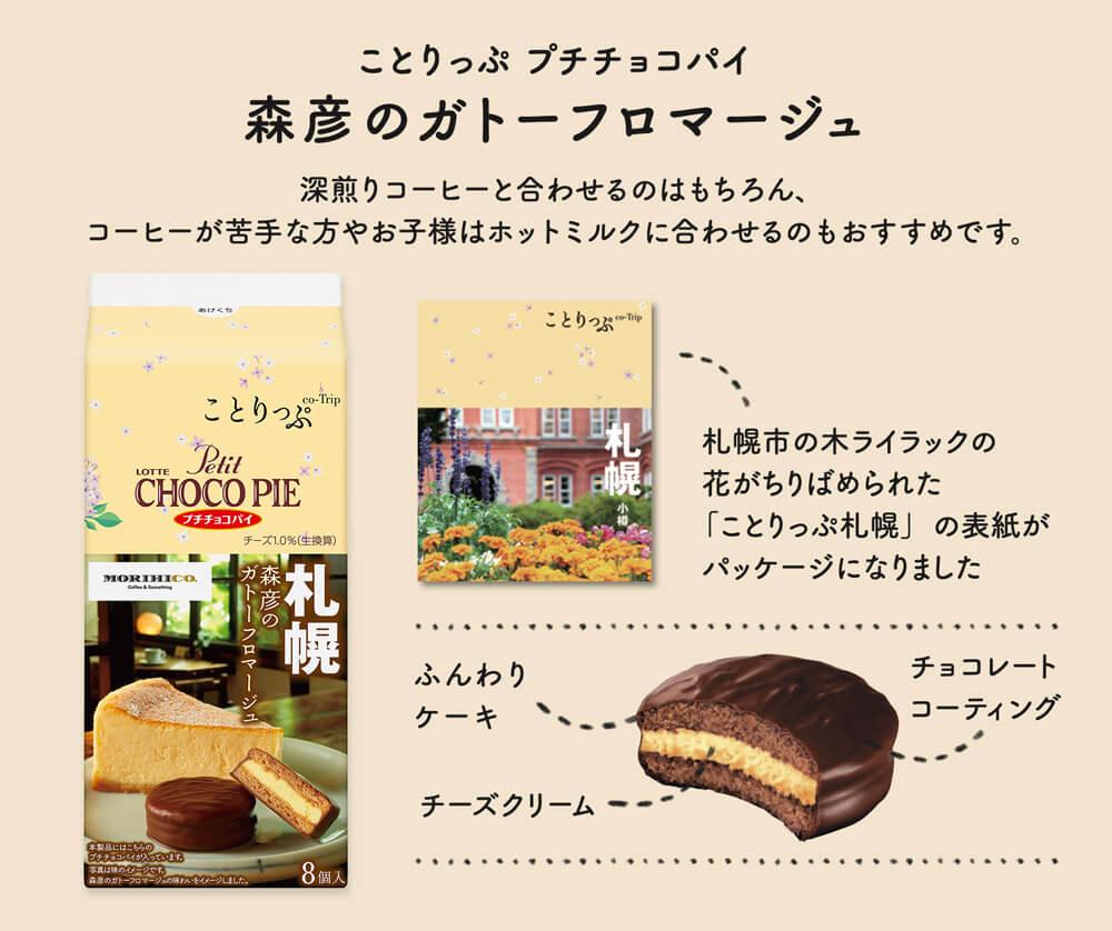 ロッテ×ことりっぷ『プチチョコパイ』