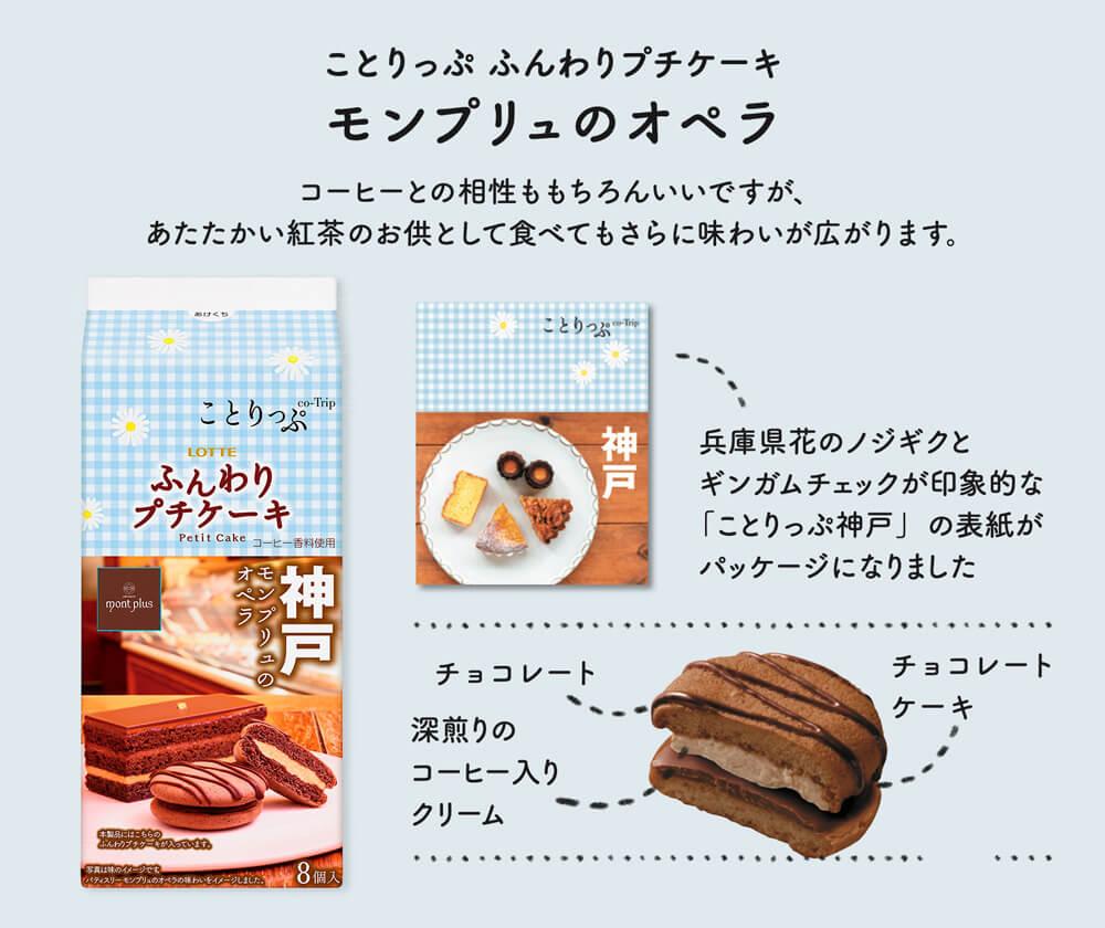 ロッテ×ことりっぷ『ふんわりプチケーキ』