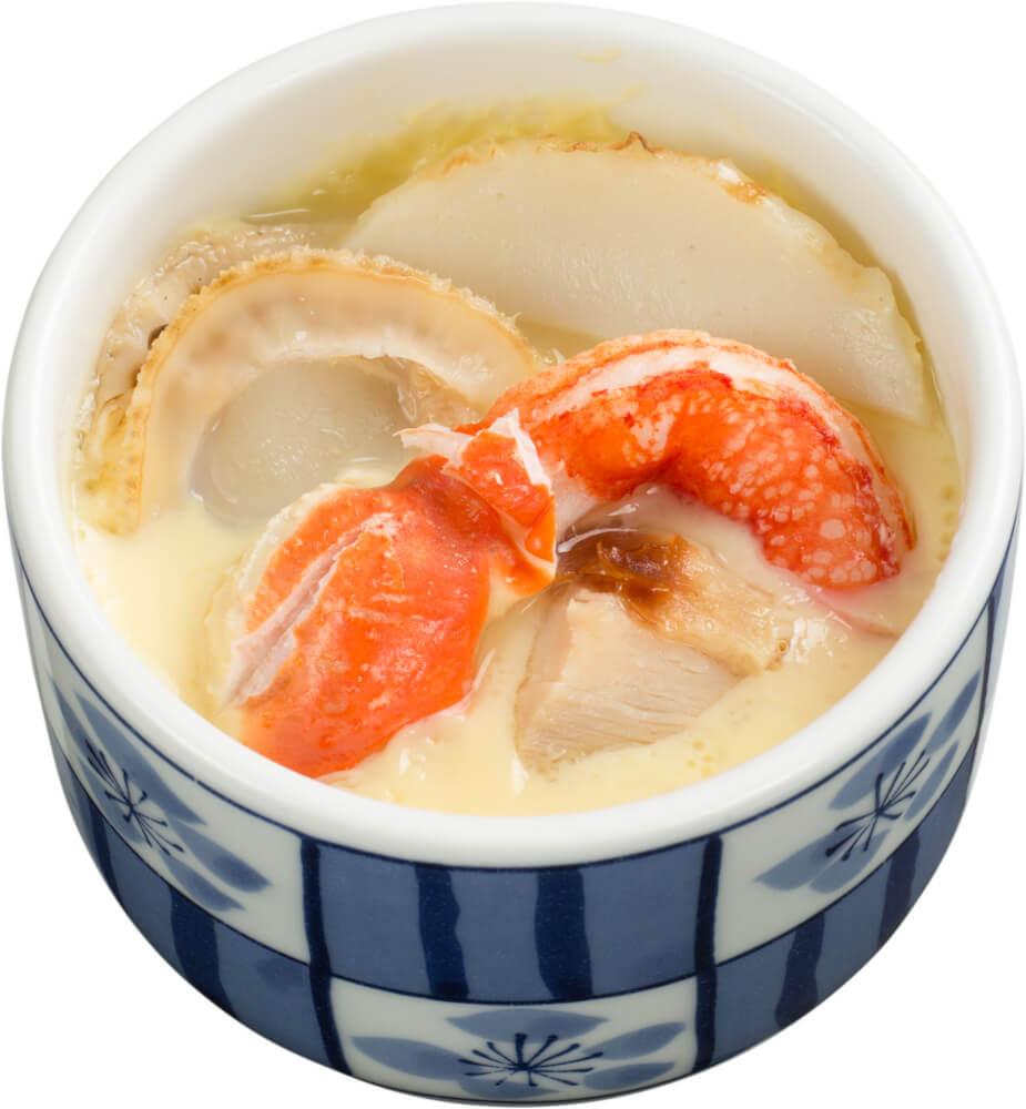 スシロー『かに祭』-本ずわい蟹の茶碗蒸し