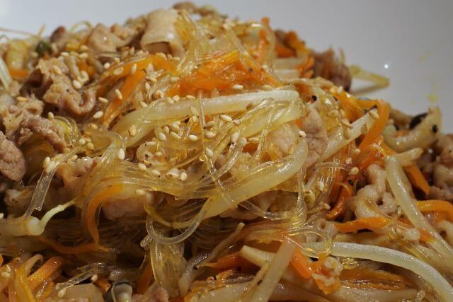チャプチェ・韓国料理