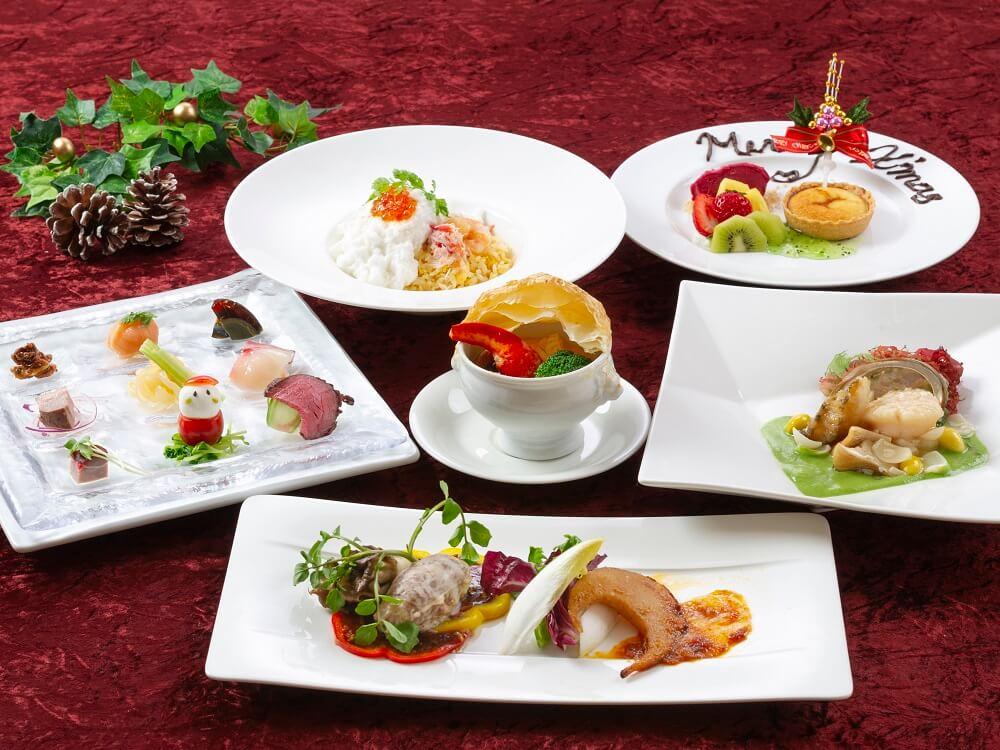 緑花(ルファ)のクリスマスディナー『聖夜の美食晩餐(びしょくばんさん)』