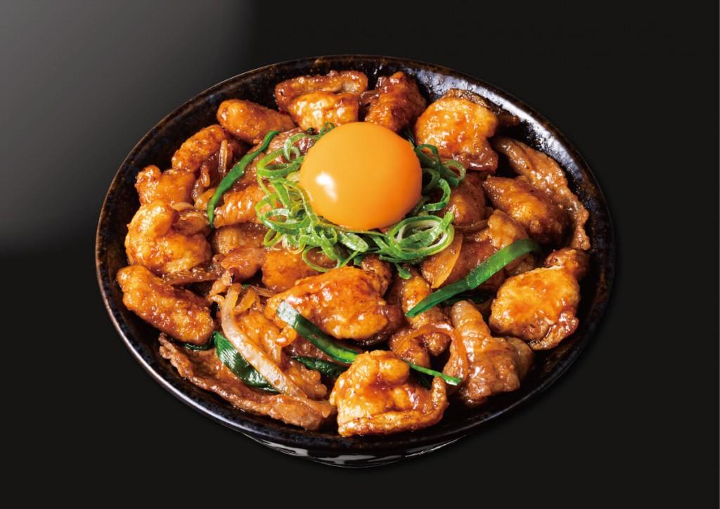 """すた丼の『すたみな""""極""""ホルモン丼』"""