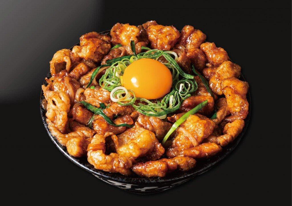 すた丼の『ギャラクシーすたみなホルモン丼』
