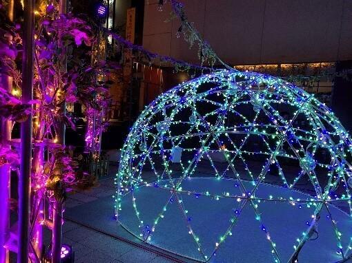 クロスホテル札幌の2020年イルミネーション