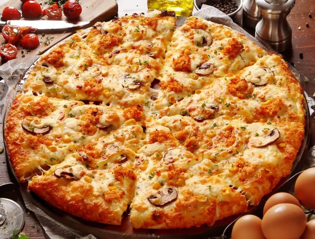 PIZZA-LA『ピザーラ カニマヨ』