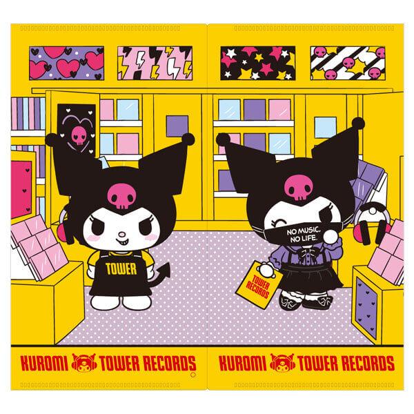 クロミ×タワーレコード コラボグッズ『マスクケース[FRONT]』