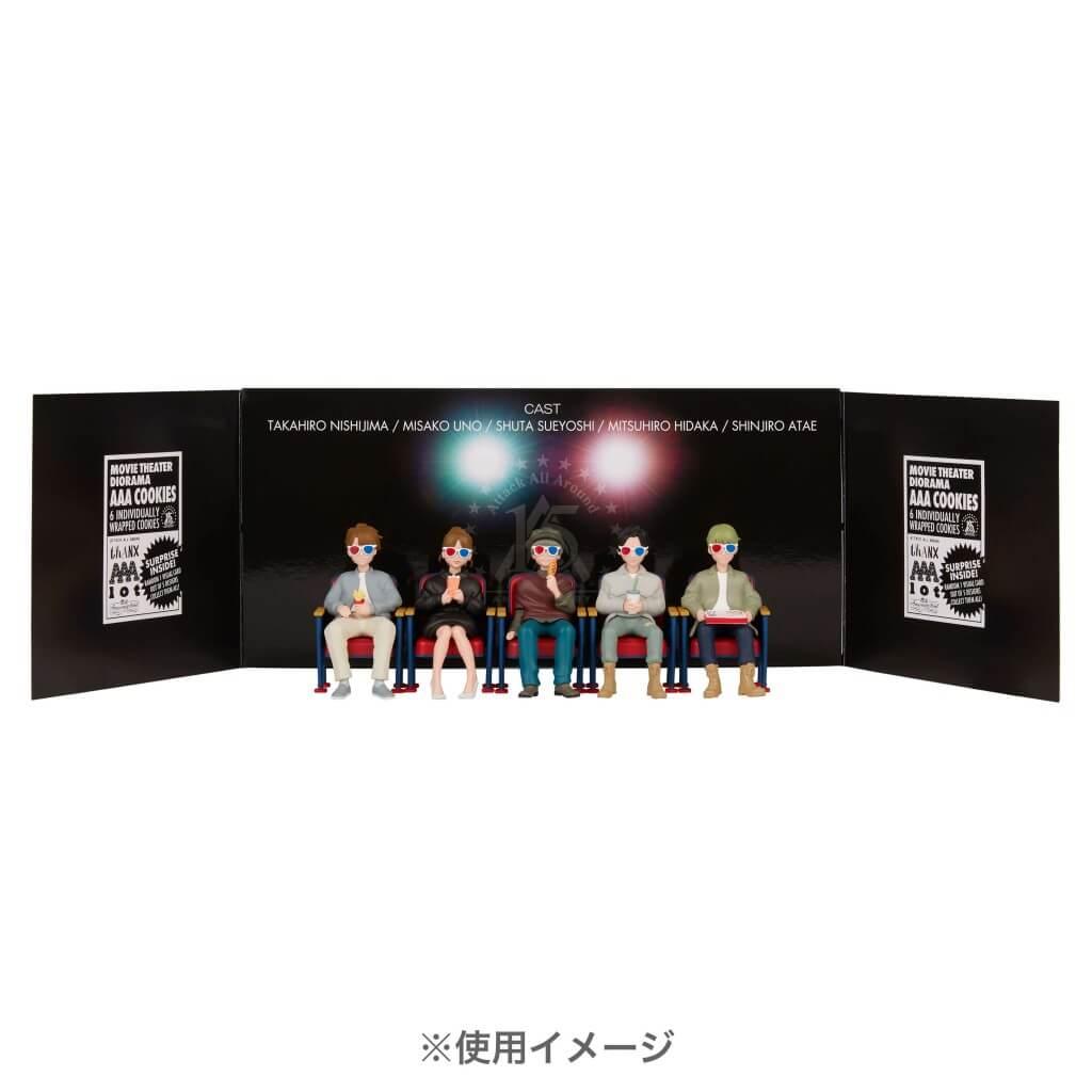 札幌パルコ『AAA +PLUS+ FAN EXHIBITION -Thanks 15th Anniversary-』-AAA MAGNET FIGURE -3D GLASSES-