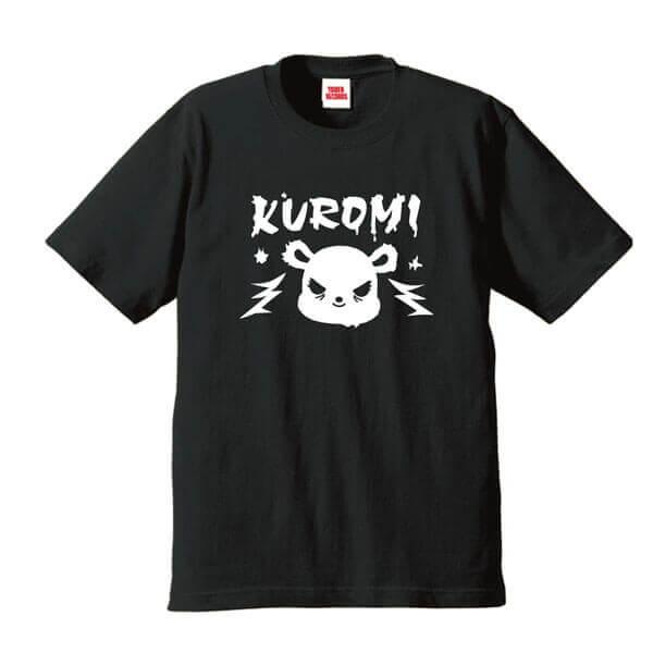 クロミ×タワーレコード コラボグッズ『T-shirts ブラック』