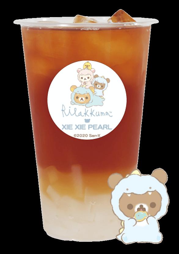 謝謝珍珠(シェイシェイパール)×リラックマ『チャイロイコグマのはちみつりんごフルーツティー』