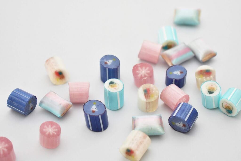 パパブブレのクリスマス商品-Snowミックス