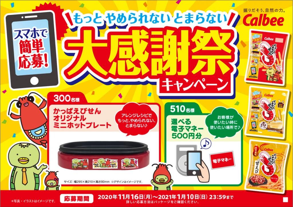 『かっぱえびせん 北海道チーズ味』-もっと、やめられない、とまらない大感謝祭キャンペーン