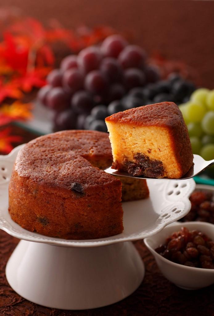 北菓楼の『レーズンのパウンドケーキ「葡萄と小麦」』