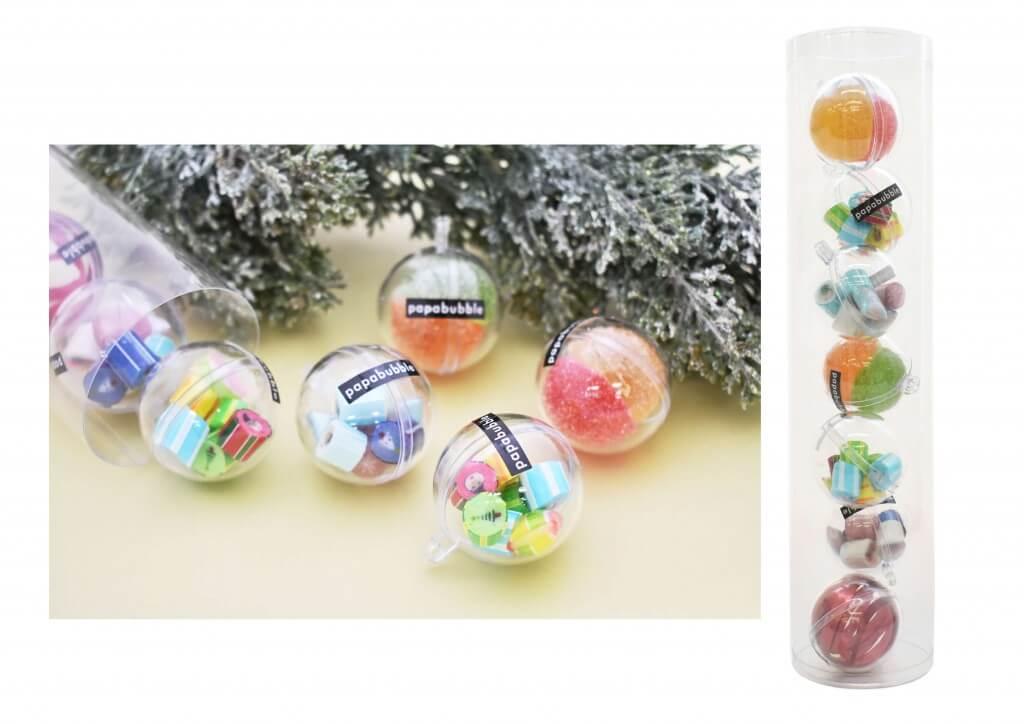 パパブブレのクリスマス商品-オーナメントキャンディ