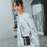"""『伊藤万理華EXHIBITION """"HOMESICK""""』のジャガードサコッシュ"""