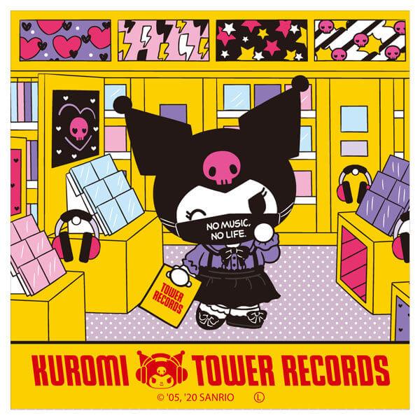 クロミ×タワーレコード コラボグッズ『ステッカー』