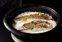 札幌グランドホテルの『土鍋で炊いた鯛めし御膳』