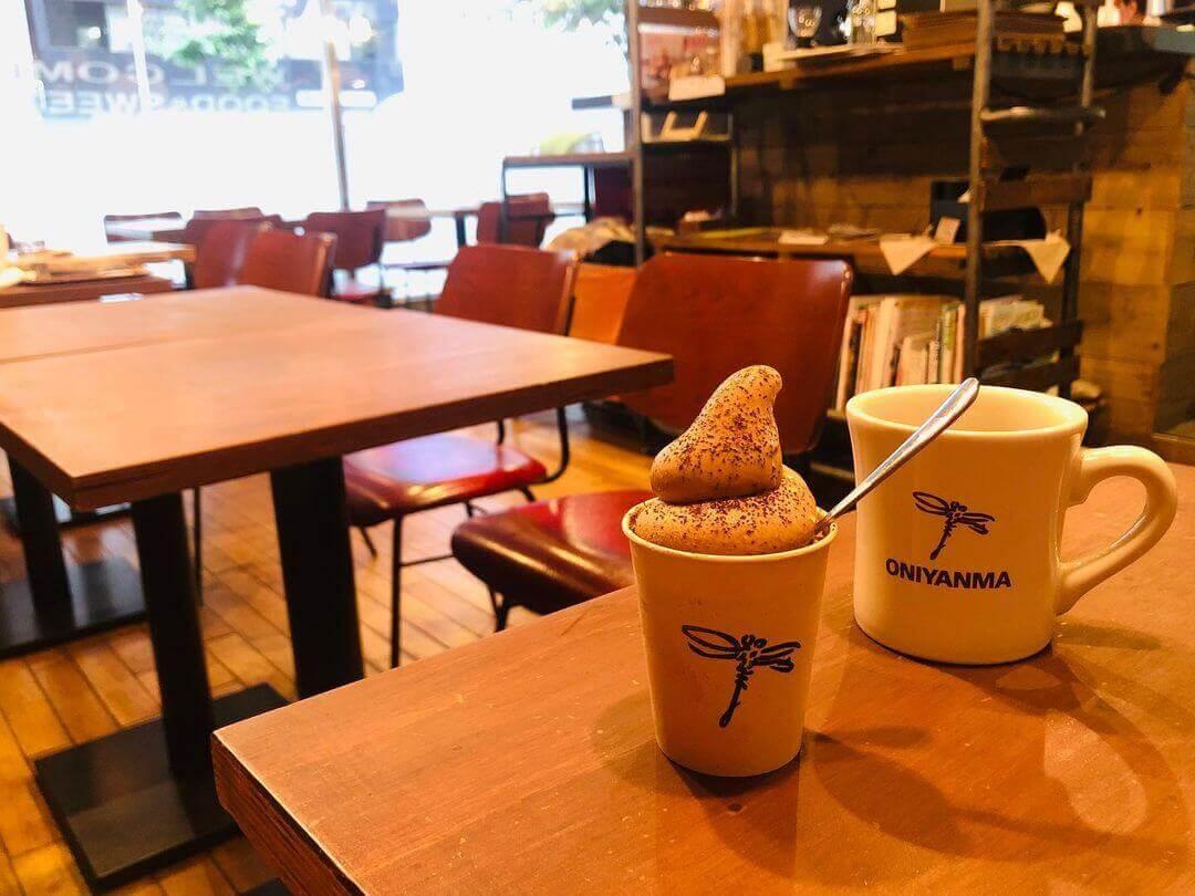 オニヤンマコーヒーのコーヒー