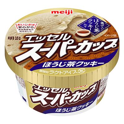 『明治 エッセルスーパーカップ ほうじ茶クッキー』