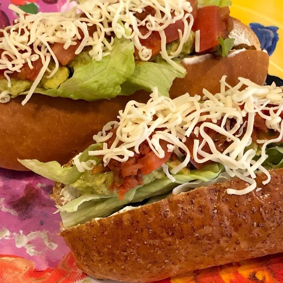 Cafe Fluffyの『メキシカンホットドッグ』