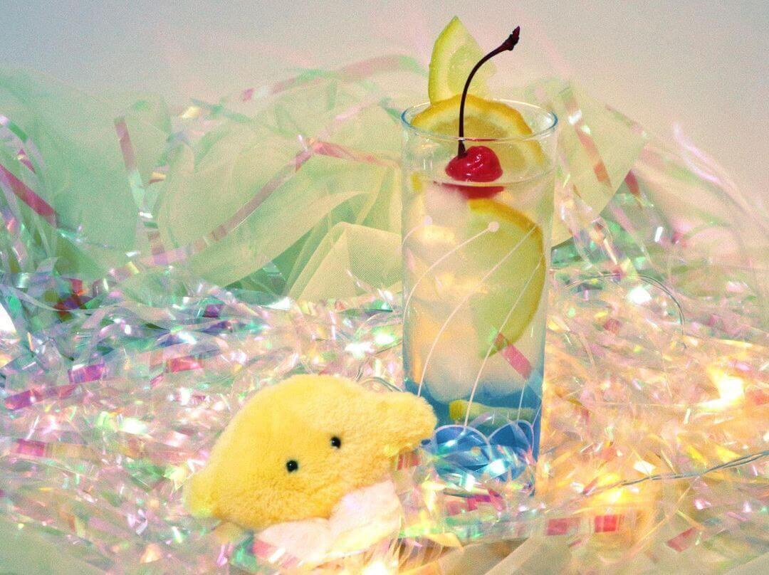喫茶フルーッの『レモンスカッシュ』