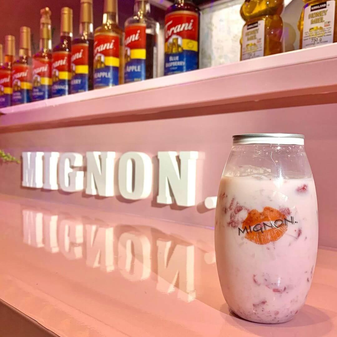 MIGNON.(ミニョン)の『イチゴミルク』
