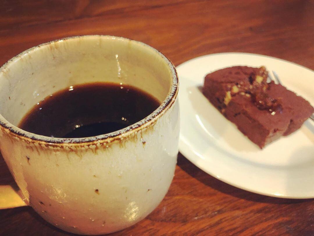 Cafe Fluffyの『チョコのテリーヌ&オリジナルブレンドコーヒー』