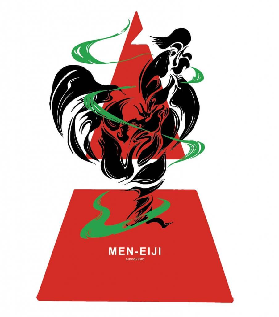 札幌タンメン MEN-EIJIの鶏ロゴ