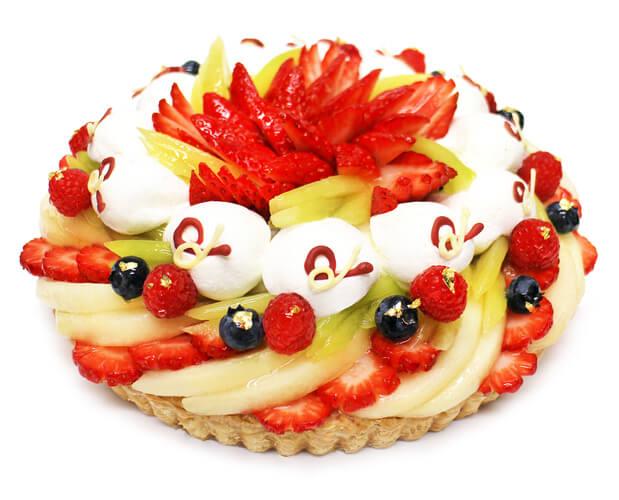カフェコムサ『新春ケーキ』-ピース販売