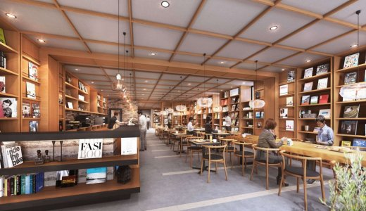 【ランプライトブックスホテル札幌】狸小路7丁目に24時間営業の本屋・カフェを併設したホテルがオープン!