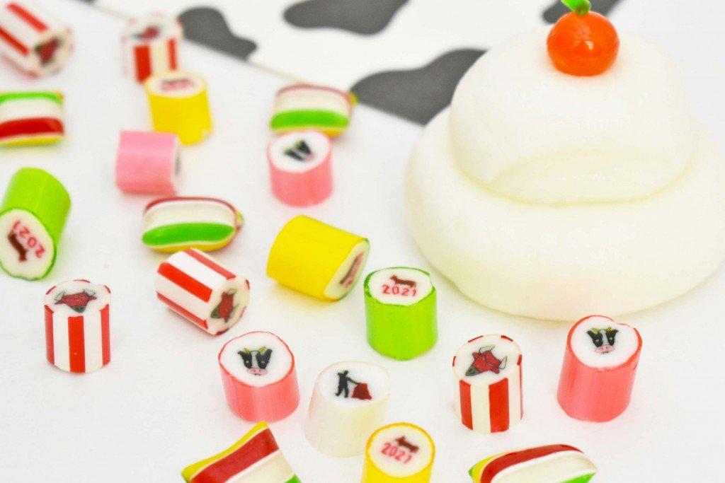 パパブブレ『お正月ミックス』『鏡餅キャンディ』