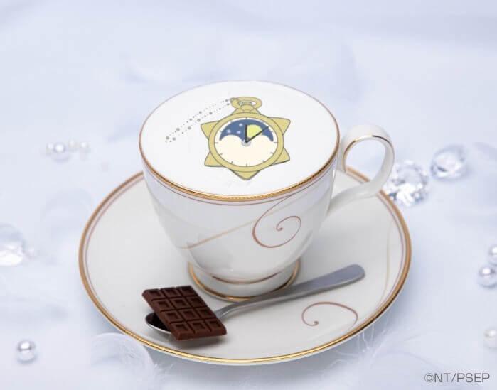 セーラームーンカフェ-Eternal-『衛のカフェラテ チョコレートを添えて』