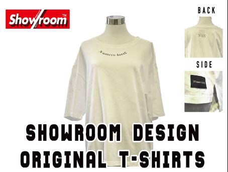 Showroom(ショールーム)移転オープン記念-オリジナルT-shirt