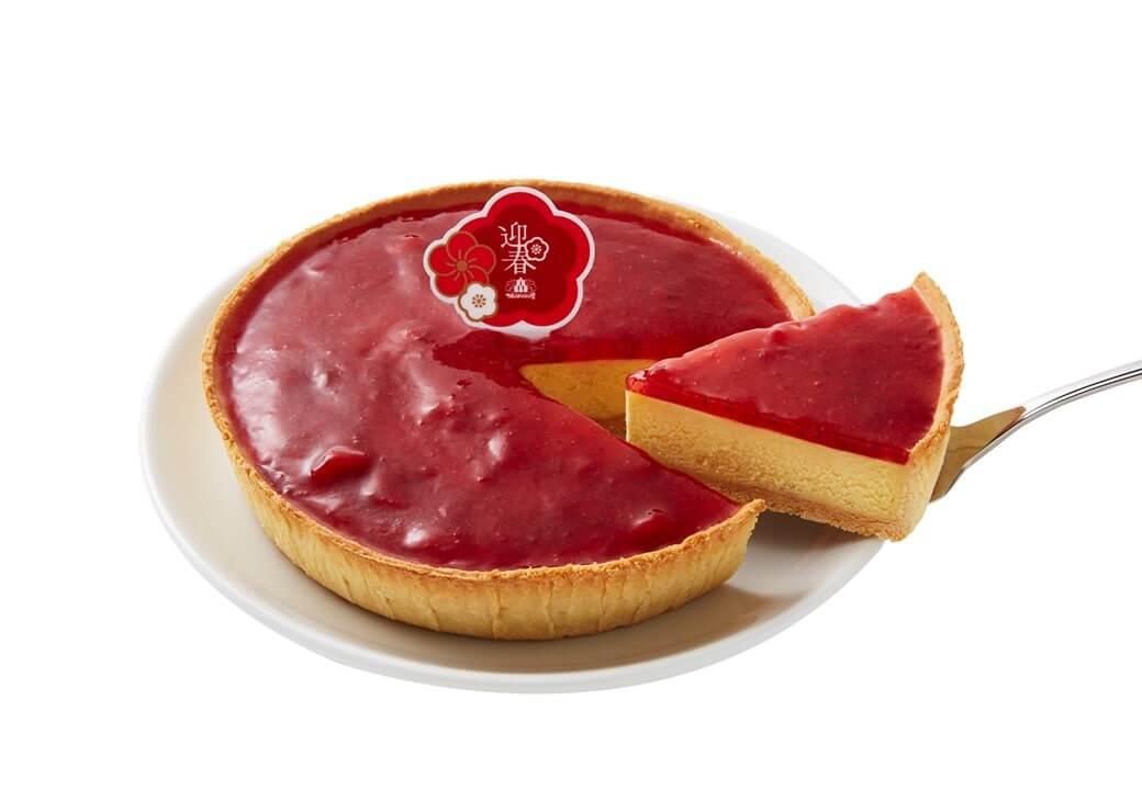 モロゾフ『迎春いちごのチーズケーキ』