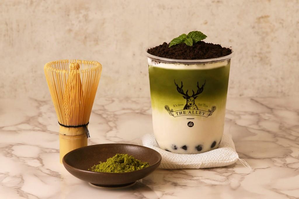 THE ALLEY(ジ アレイ)『盆栽抹茶タピオカラテ』