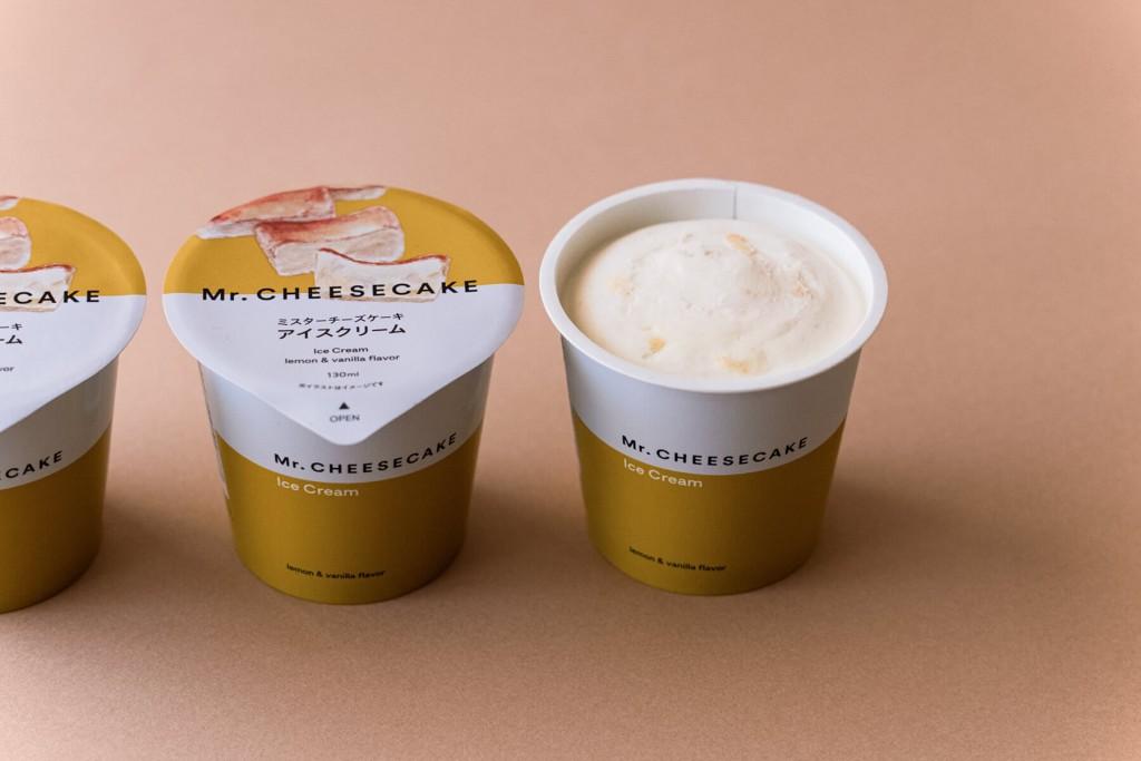 Mr. CHEESECAKE×セブンイレブン『ミスターチーズケーキ アイスクリーム』