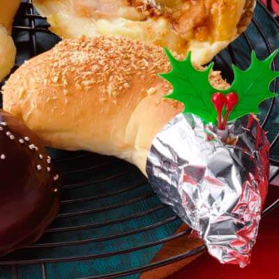 ロイズ『クリスマス限定のパン』-クリスマスチキンパン